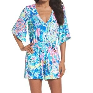 Lilly Pulitzer Madilyn Romper | Dive in